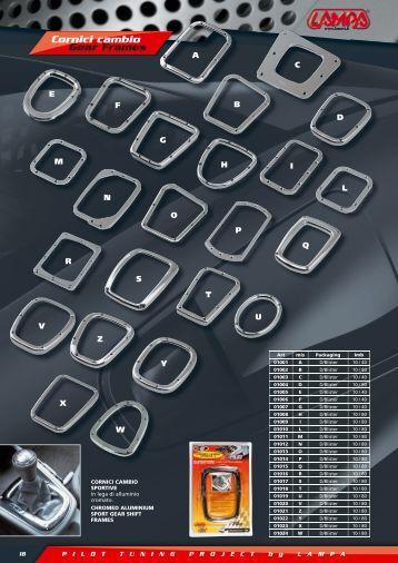 Cornici cambio Gear Frames - Puntomoto.com