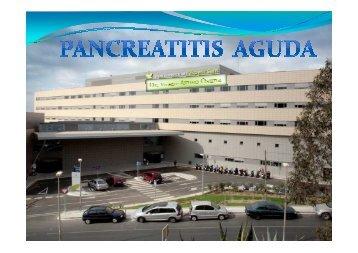 Pancreatitis Dr. Ayuso 1 - Hospital de l'Esperit Sant