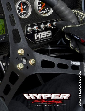 View 2012 PDF Catalog - HyperRacing