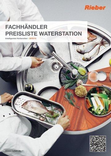 Fachhändler Preisliste waterstation - Rieber GmbH & Co. KG