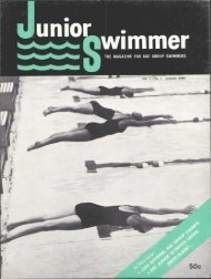 Vol. lmNo. 1 January, 1960 • ' t - Swimming World Magazine