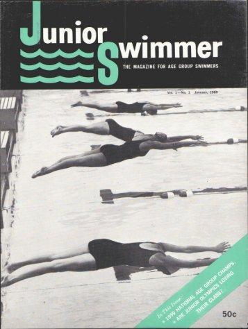 Vol. lmNo. 1 January, 1960 • ' t - Swimming World Magazine