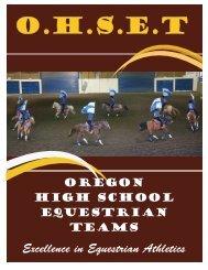 O.H.S.E.T - Oregon High School Equestrian Team