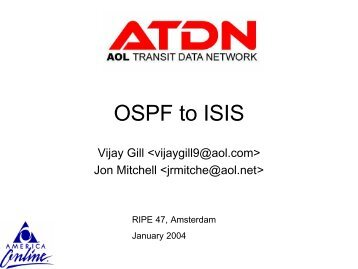 OSPF to ISIS