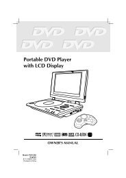 Portable DVD Player with LCD Display - Venturer
