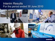 Download the 2010 Interim results Slide presentation PDF ... - Centrica