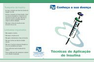 Técnicas de Aplicação de Insulina