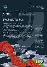 Blueback Toolbox - Ocean - Schlumberger