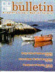 July 2004 Bulletin - Allegheny County Medical Society