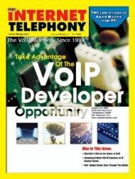 TMC Labs Internet Telephony Innovation Awards 2005