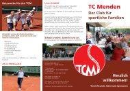 Info Flyer 2009 - TC Menden