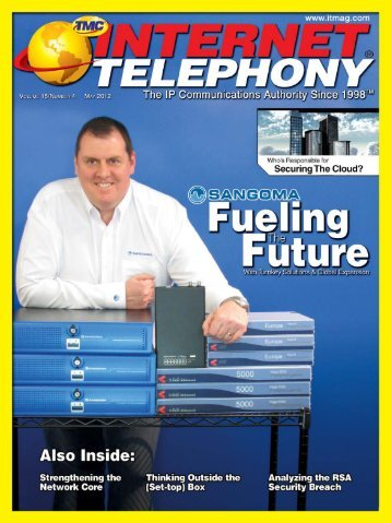 Internet Telephony - TMC's Digital Magazine Issues