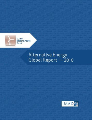 Alternative Energy Global Report - Ascendant Capital Advisors