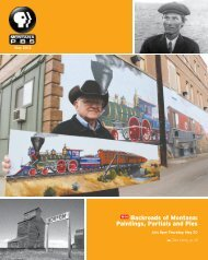 Backroads of Montana: Paintings, Partials and Pies - Montana PBS