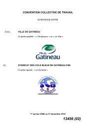 CONVENTION COLLECTIVE DE TRAVAIL - Programme du travail