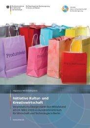 Initiative Kultur- und Kreativwirtschaft - BDG Bund Deutscher Grafik ...