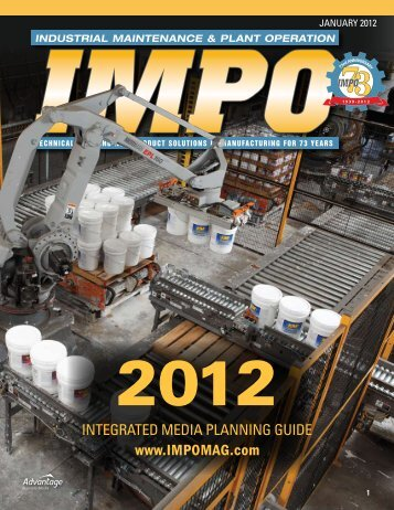 industrial maintenance & plant operation - Advantage Business Media