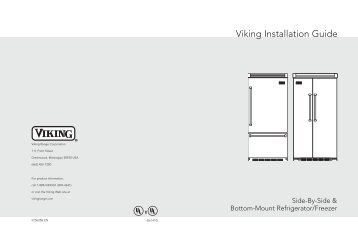 Installation instructions viking range corporation viking vcbb536rss installation instructions publicscrutiny Image collections