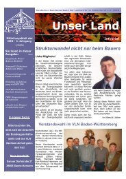 Infobrief 10.pub - Deutscher Bundesverband der Landwirte im ...