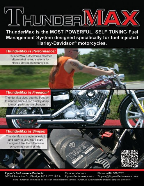 ThunderMax is the MOST POWERFUL, SELF TUNING Fuel