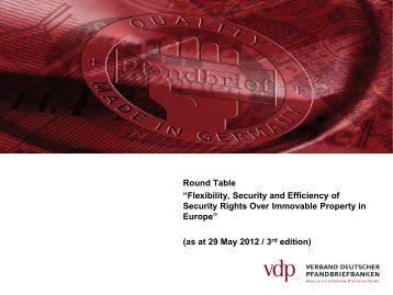 slides in ENGLISH - Verband deutscher Pfandbriefbanken