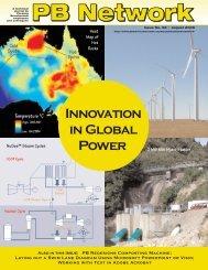 Innovation in Global Power - Parsons Brinckerhoff