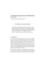 40. Funktionsbetrachtungen als Ansatz zum Mathematisieren in der ...