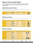 Product Portfolio Brochure - Zebra - Page 3