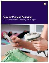 General Purpose Scanners - Motorola Solutions