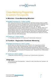 Cross-Mentoring-Programme - Cross Consult