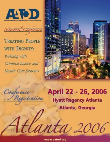 AATOD 2006 Conference Registration Brochure