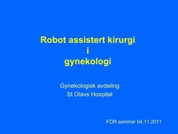 Foredrag, Gyn - St. Olavs Hospital
