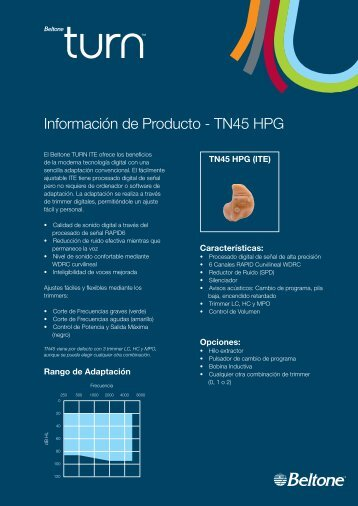 Turn Libro Fichas.indd - Beltone.es