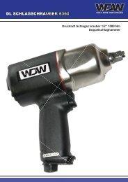 DL SCHLAGSCHRAUBER 8360 AUBER 8360 - Welt-der-Werkzeuge