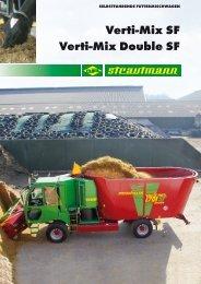 Selbstfahrende Futtermischwagen Verti-Mix SF / Verti-Mix Double SF