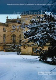 Issue 7 - December 2011 - Ampleforth College