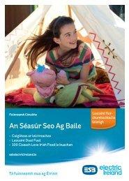An Séasúr Seo Ag Baile (Samhradh 2011) - Electric Ireland