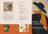 Stadtmuseum Lindau Toulouse-Lautrec Henri de