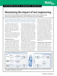 Maximizing the impact of test engineering - Packaging Digest