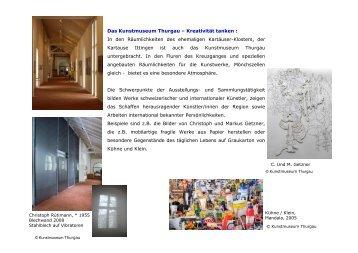 Kunstmuseum Thurgau - OSTAK