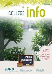 college info - SJKS