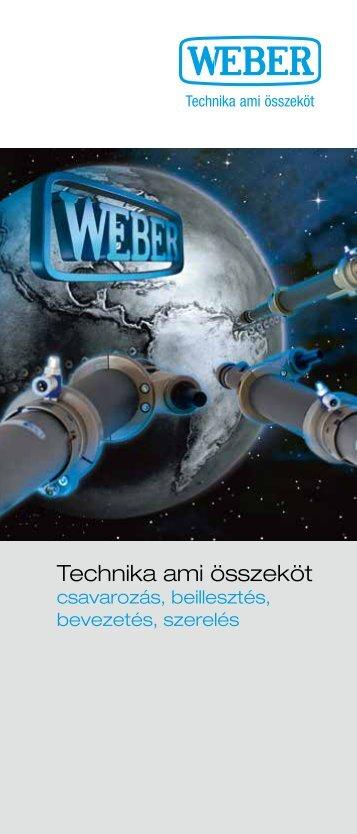 Technika ami összeköt - Weber Schraubautomaten