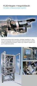 Technika ami összeköt - Weber Schraubautomaten - Page 3