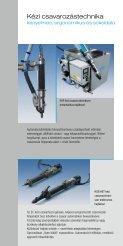 Technika ami összeköt - Weber Schraubautomaten - Page 4