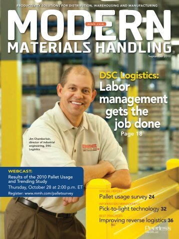 Modern Materials Handling - September 2010