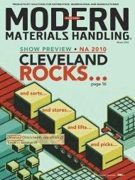 Modern Materials Handling - March 2010