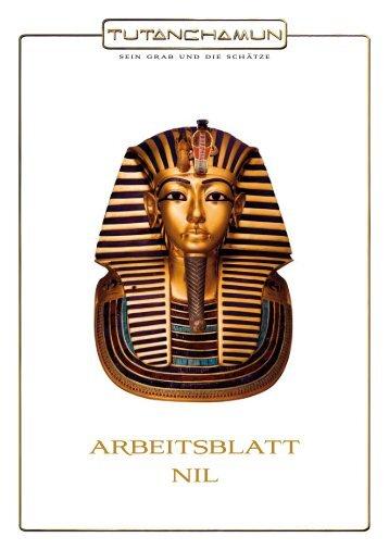 ARBEITSBLATT SCHRIFT - Tutanchamun