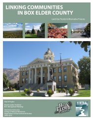 Land Use Trends & Alternative Futures - CNR Home - Utah State ...