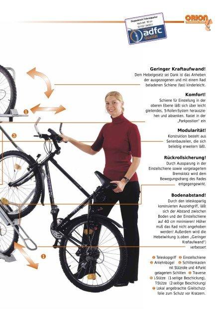 Doppelstockparker - Orion Bausysteme GmbH