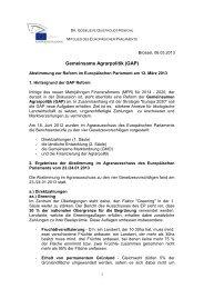 Hintergrundinfo zur GAP Reform 2014 - CDU Niedersachsen BLOG